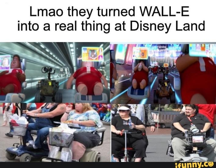 Lmao They Turned Wall E Into A Real Thing At Disney Land Ifunny