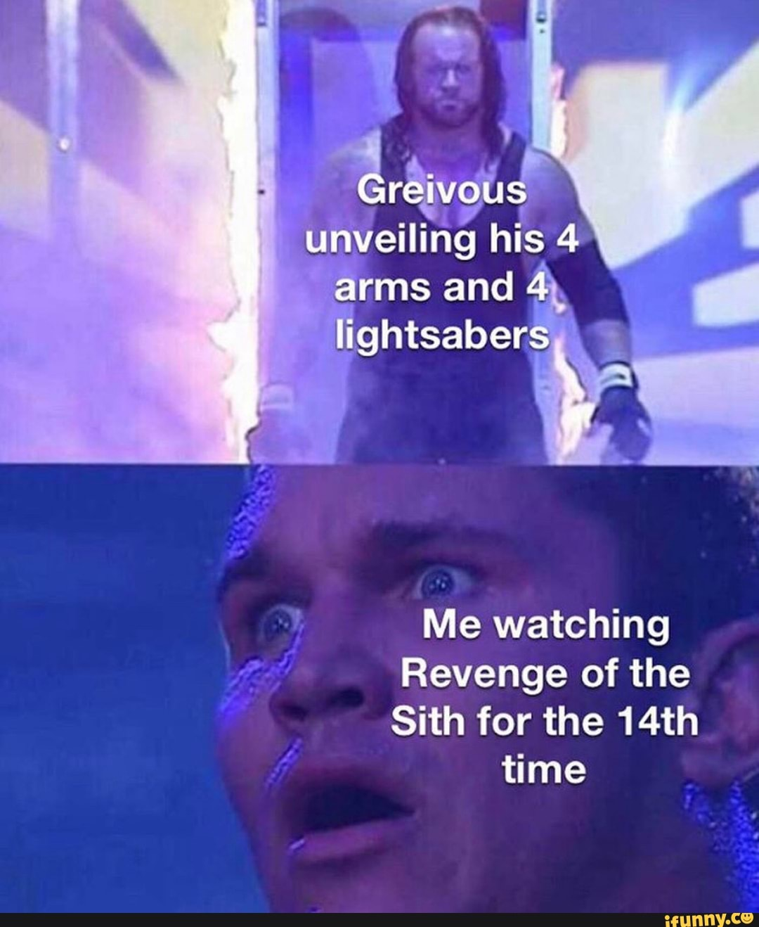 Me Watching Revenge Of The Sith For The 14th Ifunny