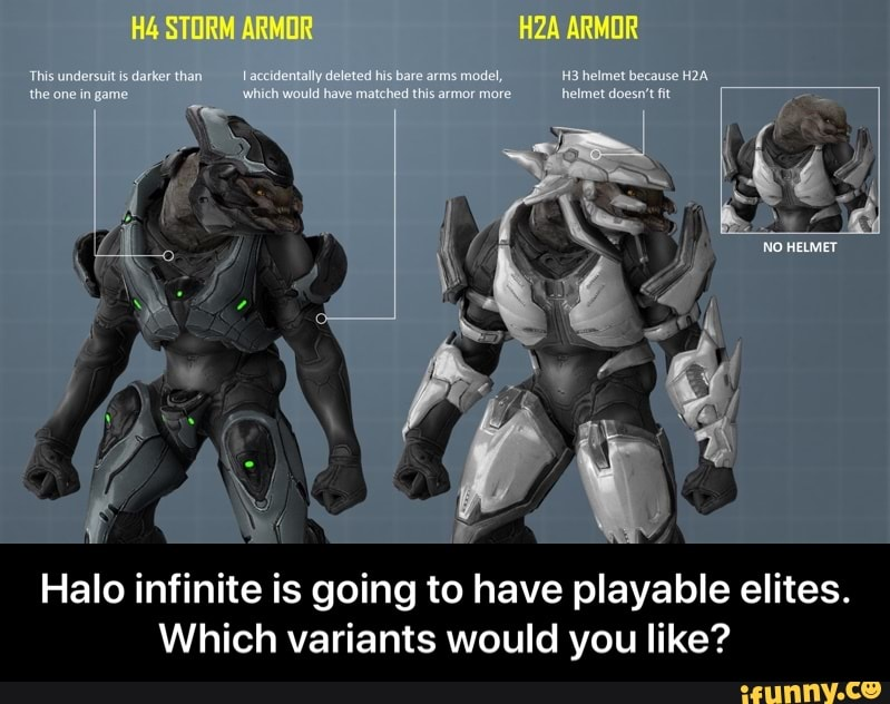 Halo infinite is going to have playable elites  Which