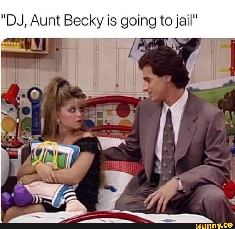 did aunt becky go to jail