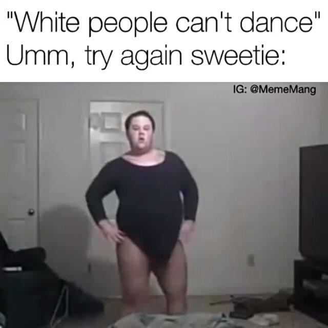 Гифка жирный мужик танцует